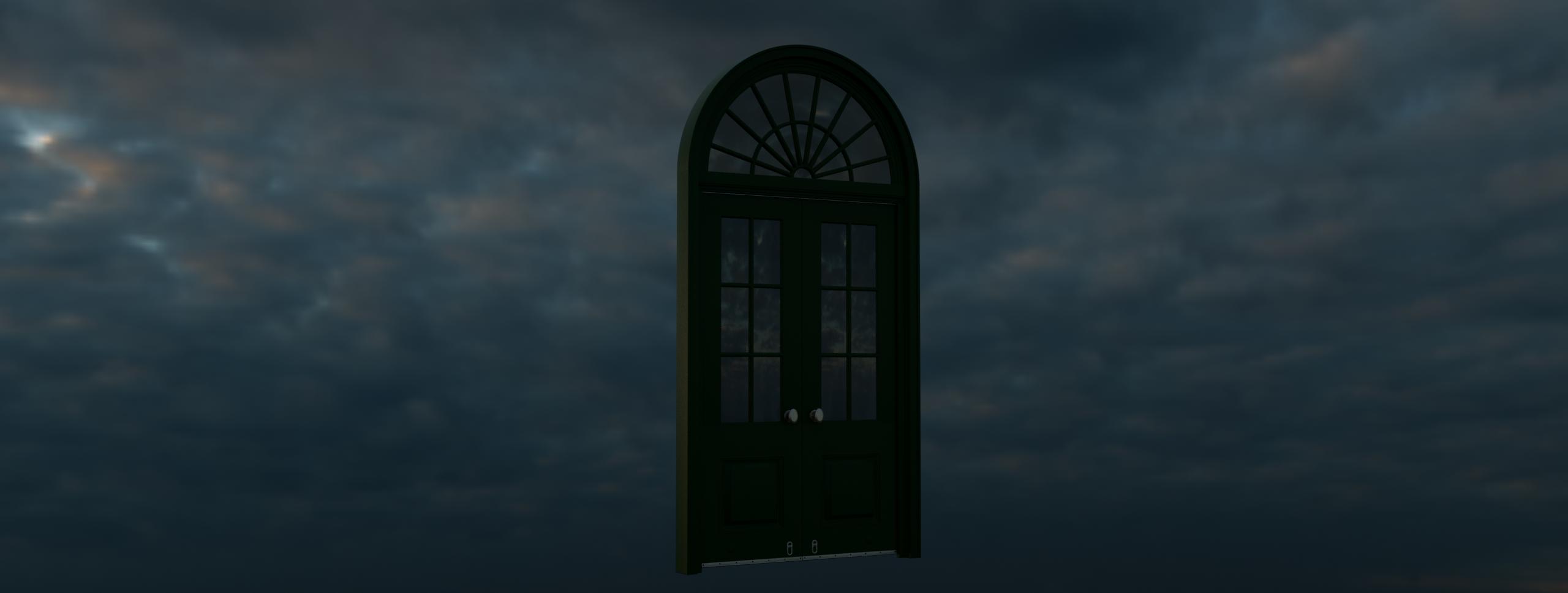 South Portico Door