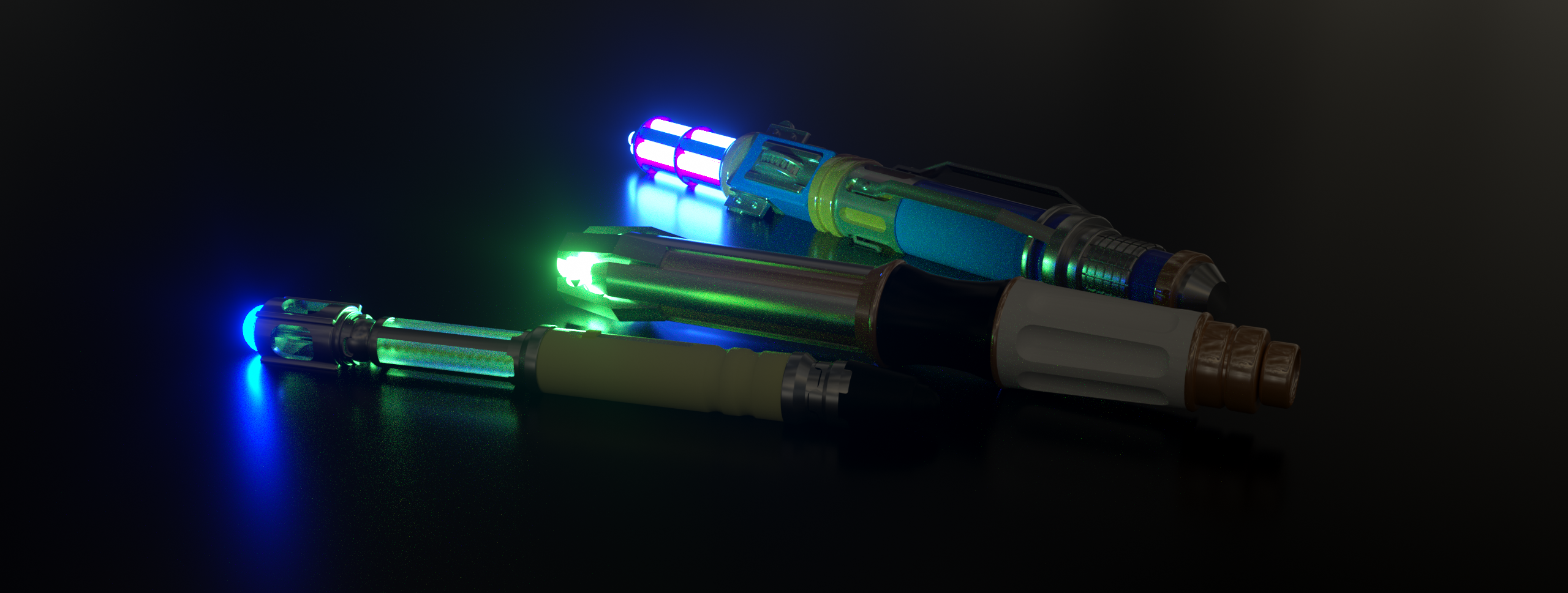Various Sonic Screwdrivers