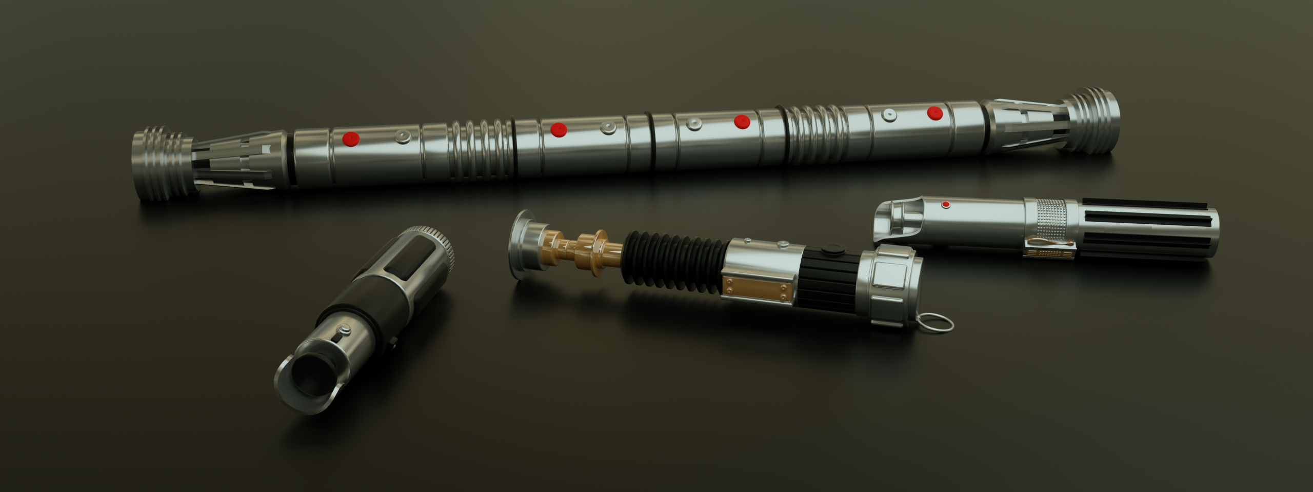 Various Lightsabers