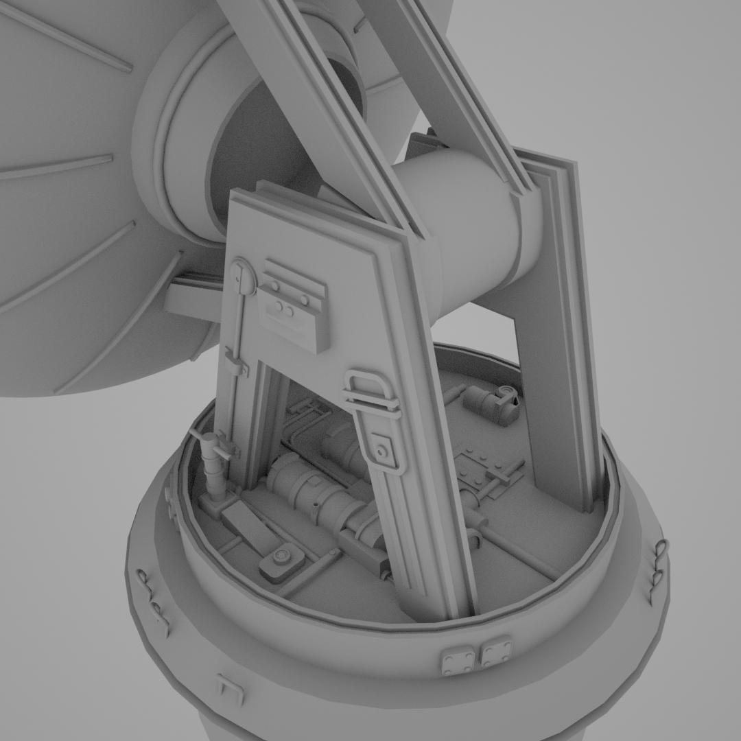 Radar Dish Back