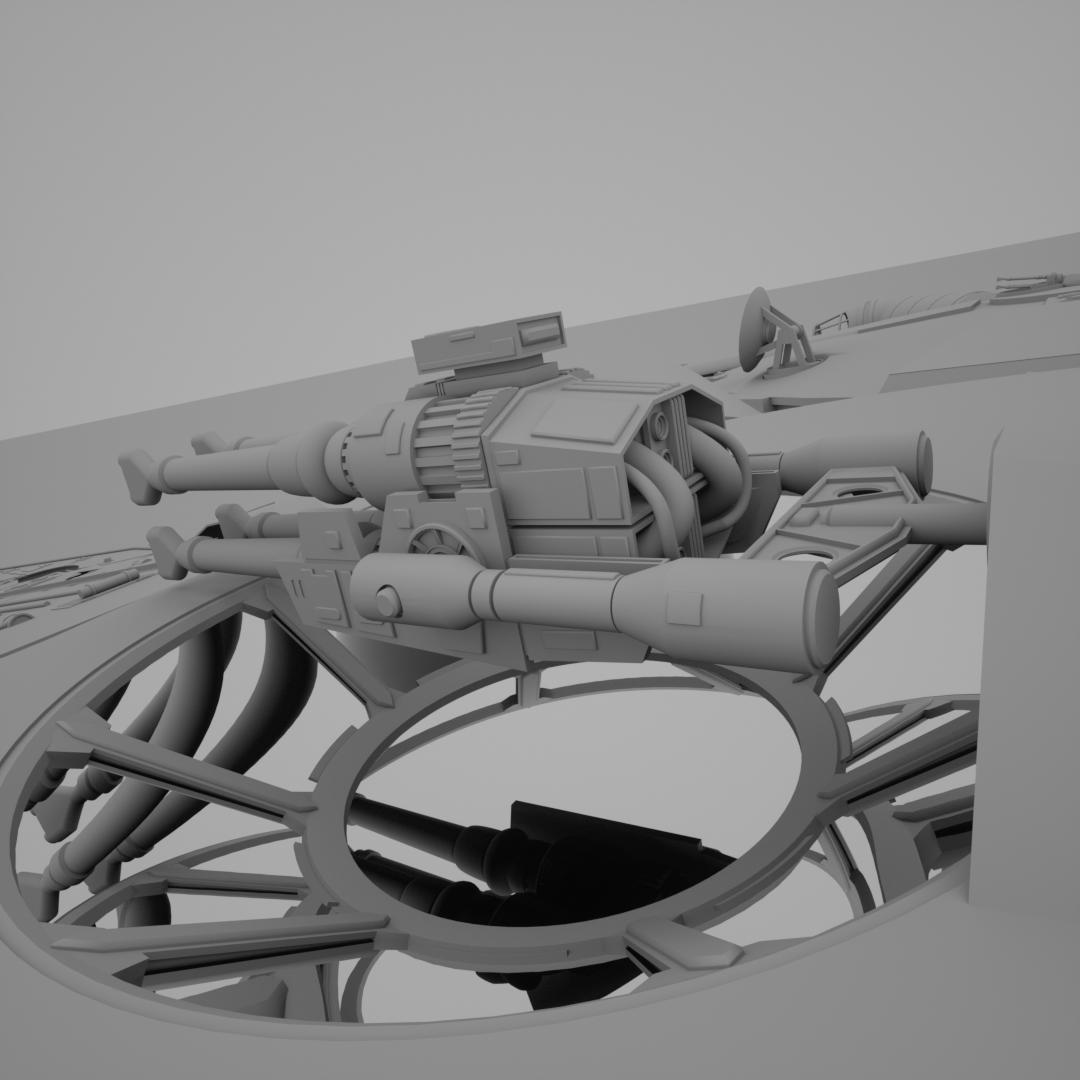 Quad Laser Cannon