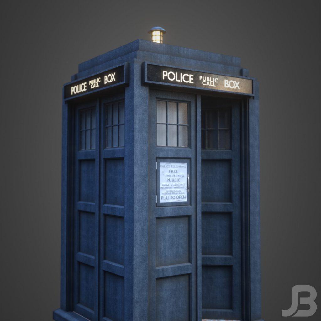 Jesper van den Boogert - 10th Doctor's TARDIS