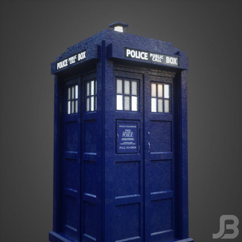 Jesper van den Boogert - 8th Doctor's TARDIS