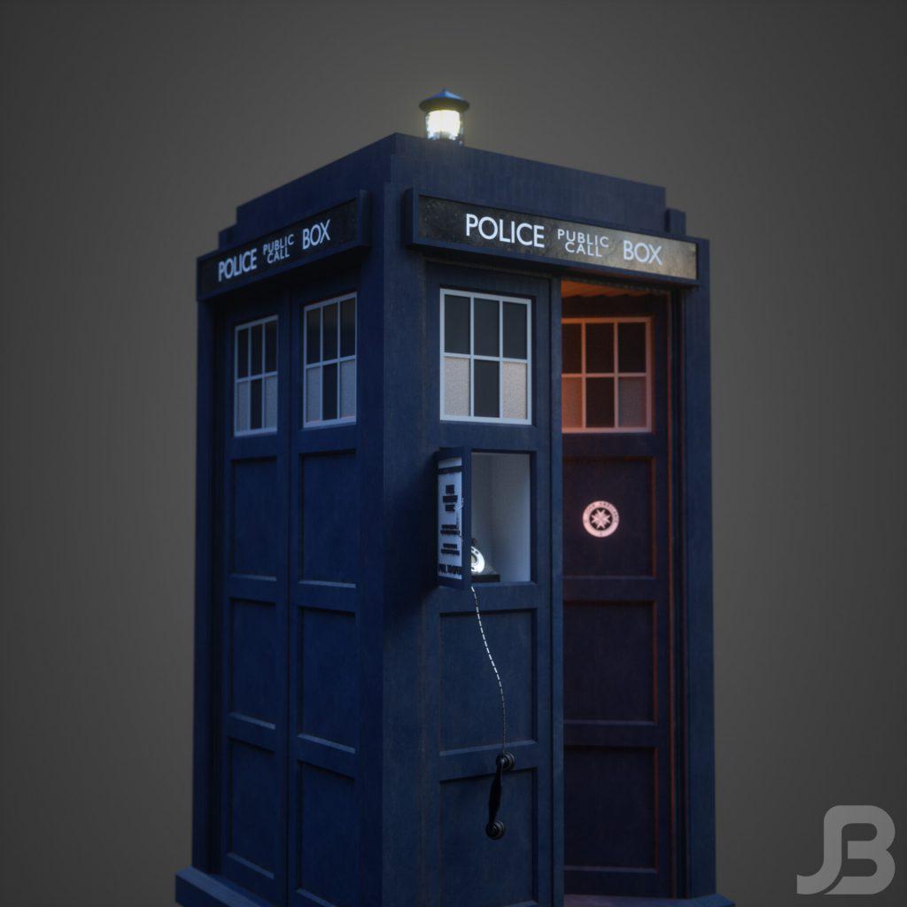 Jesper van den Boogert - 12th Doctor's TARDIS