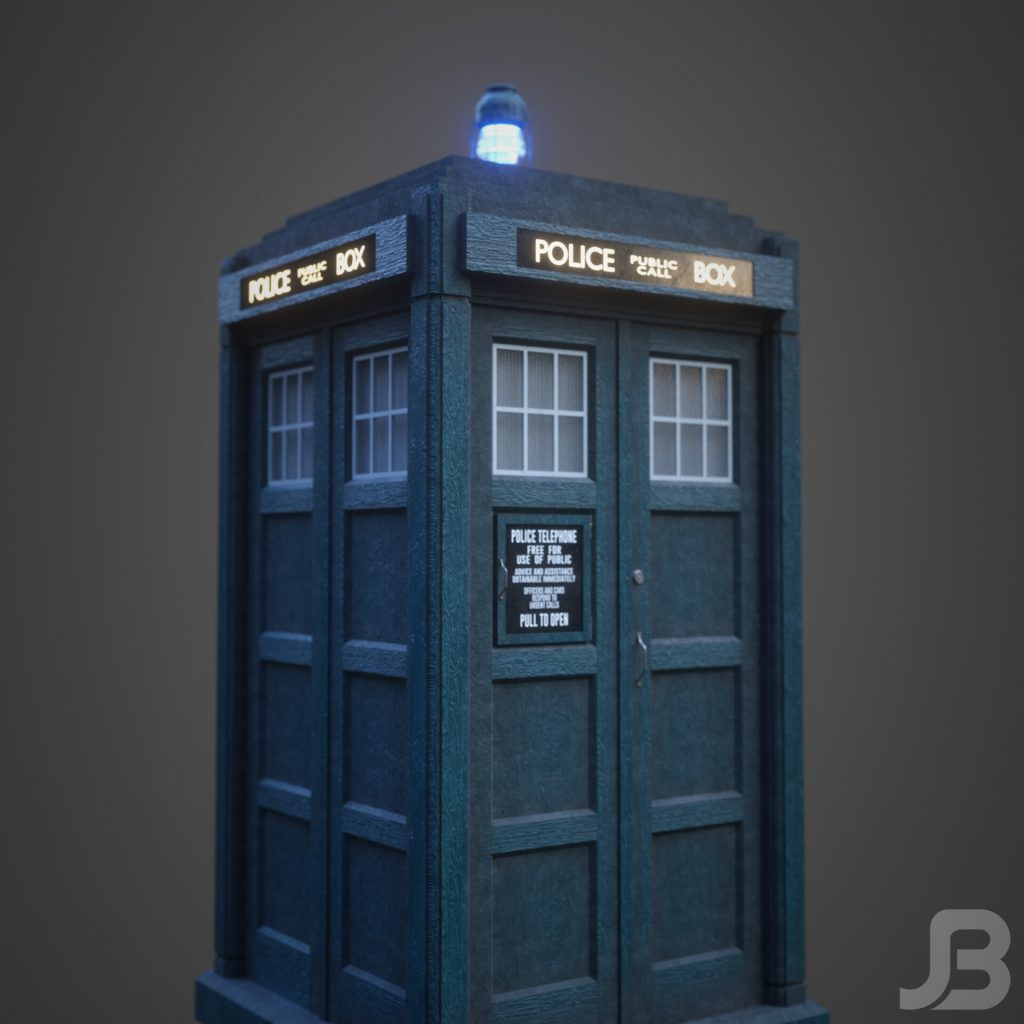 Jesper van den Boogert - 13th Doctor's TARDIS