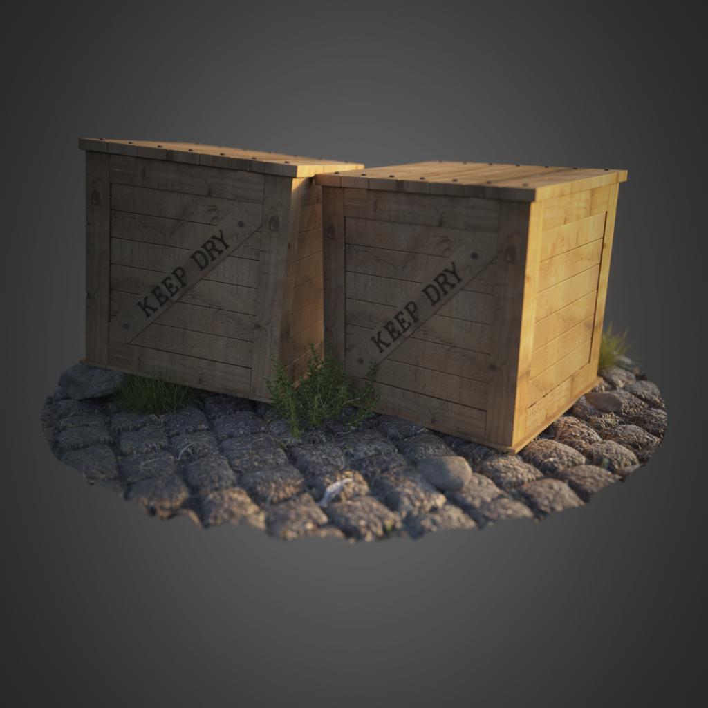 Jesper van den Boogert - Cargo Crates