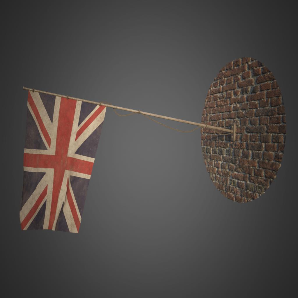 Jesper van den Boogert - British Flag