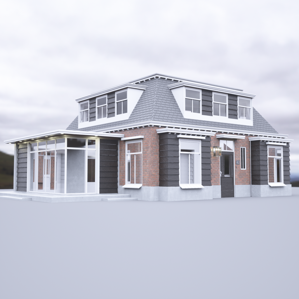 Dutch Suburban House