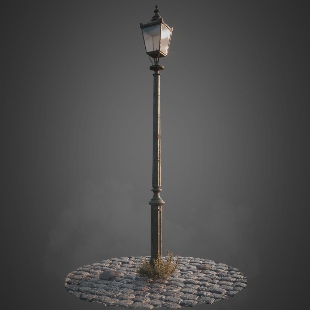 Jesper van den Boogert - Victorian London Streetlamp
