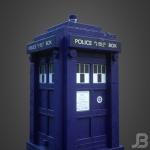 Jesper van den Boogert - LEGO TARDIS