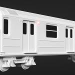 Jesper van den Boogert - NYC R26A Subway Car